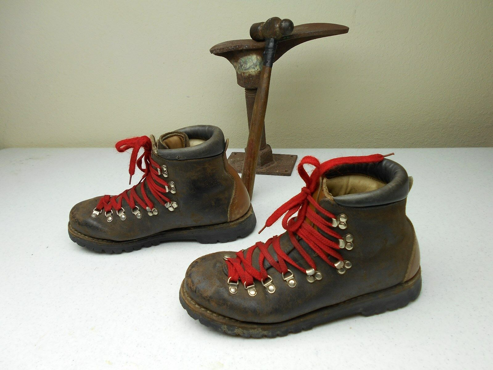 braun DISTRESSED RIACHLE STEEL TOE WORK MOUNTAIN TRAIL Stiefel Größe Größe Größe 11.5 M f3a8cf