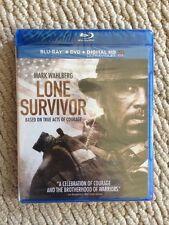 BRAND NEW! Lone Survivor (Blu-ray/DVD, 2014, 2-Disc Set, Includes Digital Copy)