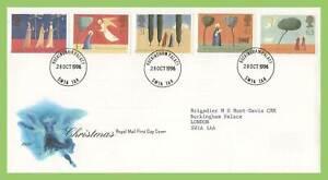 Conjunto-De-Navidad-Graham-Brown-1996-el-Palacio-de-Buckingham-CD-Royal-Mail-primer-dia-cubierta