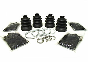 with IRS 4x4 Pair of Front Inner CV Boot Kits 2007-2011 Yamaha Grizzly 350
