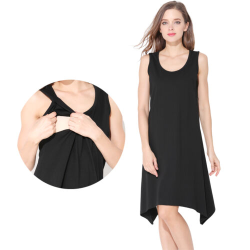 Maternity Pregnancy Clothes Nursing Breastfeeding Dresses For Pregnant Women  free shipping