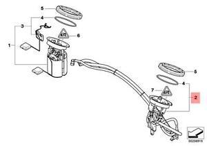 s l300 genuine bmw e81 e82 fuel filter pressure regulator repair kit oem