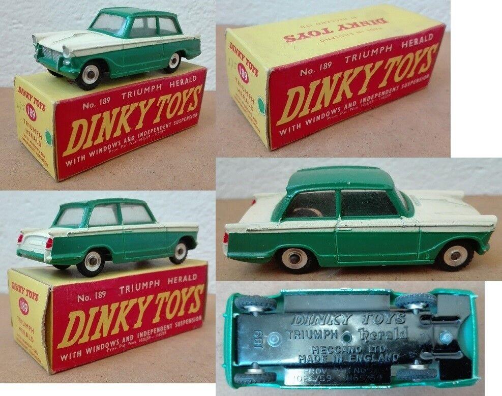 Dinky Toys 189 Triumph Herald die cast 1 43