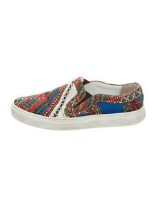 Givenchy-Multicolor-Satin-Slip-On-Sneakers-Flats-Size-5-US-35-EU