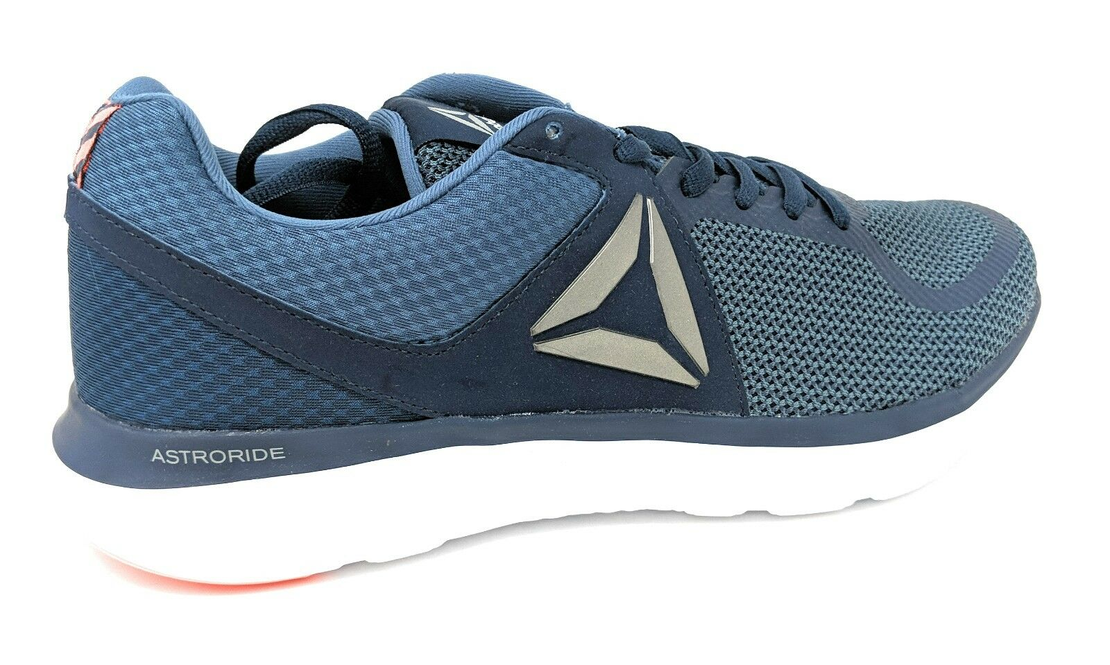 Reebok Men's Astroride MT Running Shoe, Collegiate Navy/ Blue/Wht/Orange #BD4681