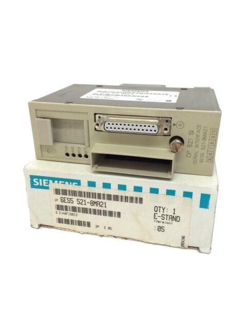 Communications Processor 6ES55218MA21 Siemens 6ES5521-8MA21