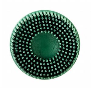 """3M-07526 Scotch-Brite Roloc Bristle Disc 7526 GREEN 4 Discs 3/"""","""