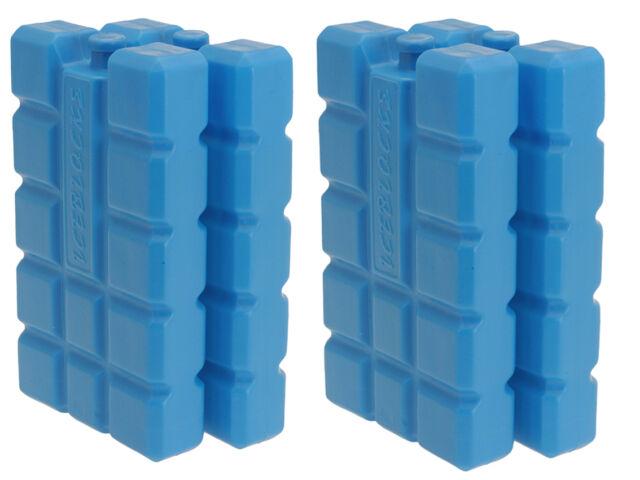 4 PACK Travel Cool Box Bag Ice Freezer Blocks Packs