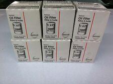 Nissan/Infiniti Oil Filter 15208-65F0E 6 pack  - Factory
