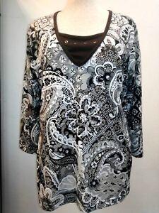 Paspel Shirt arm Mit Druck damen Einsatz ausschnitt studio Borgelt 3 V Und 4 pqFgpZ