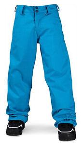 Pantaloni-da-Sci-e-Snowboard-Neve-Bambini-Volcom-Eroe-Isolato-Pantaloni-Erl