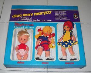 Chicca Mary Maryca La merveilleuse poupée à la croissance améliorée Poupée Marika