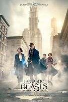 Fantastic Beasts & Where To Find Them 2016 Org Ds 2 Sided 4x6 Bus Shelter Poster