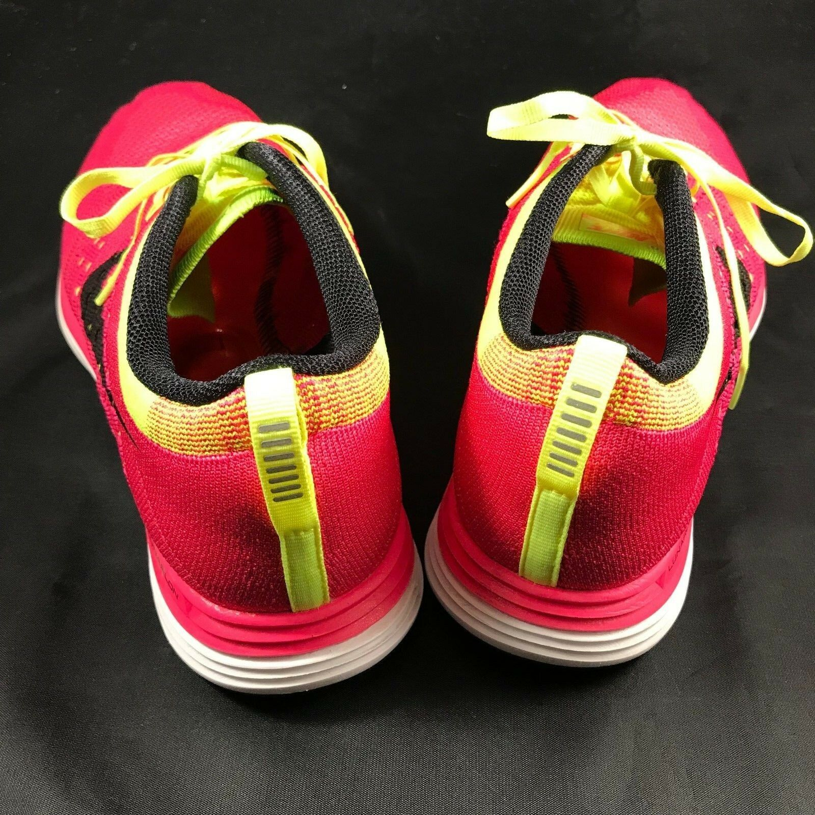 reputable site d2cba 45801 ... ireland nike flyknit lunar 1 femmes 10 42 eur 150 trim bright fuchsia  with volt trim