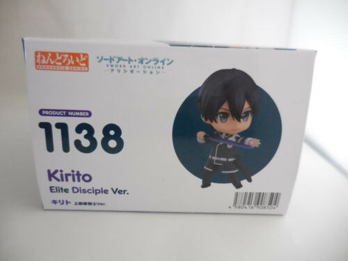 Good Smile Nendoroid Kirito:Elite Disciple Ver Alicization Sword Art Online
