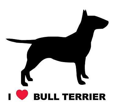 Auto pegatinas sticker lover no Fighter bullterrier wilsigns no a raza lista