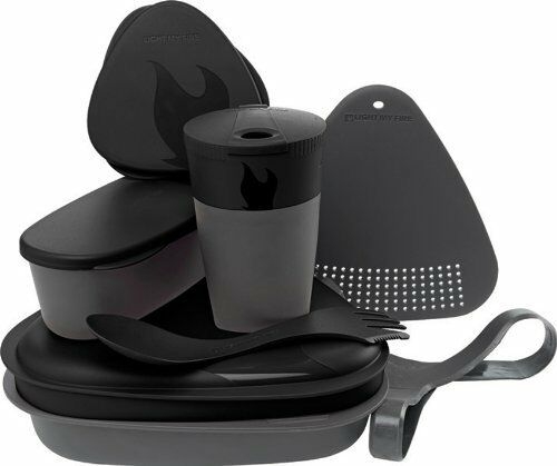 Light My Fire dinnerware set meal kit 2.0 for the break camping and outdoor, Set