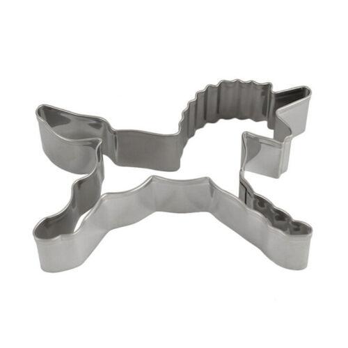 Einhorn Plätzchen Scherblock Form Kuchen der Biskuit Gebäck Backform verzier ML