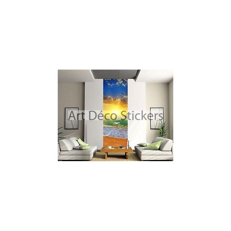 Stickers lé unique décoration murale Couché de de de soleil réf 2097 | La Construction Rationnelle  e39f2c