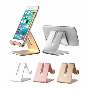 Aluminum Desk Mount Stand Holder For iPad 23 4 Mini Air Samsung Tablet iPhone WN