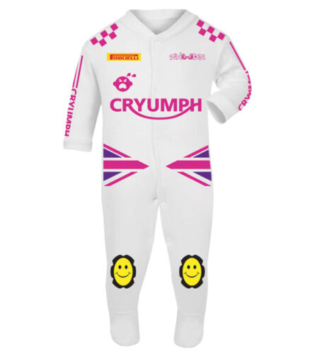Cryumph Baby Biker Race Sleep Suits