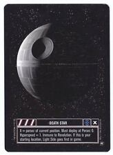 SWCCG Star Wars CCG • Death Star Dark Side STAR SYSTEM • A NEW HOPE • RARE