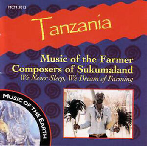 Details about Various Artists : Tanzania: Music of Farmer Composers of S CD