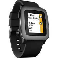 Pebble Time Smartwatch for Android or iOS - Black 501-00020