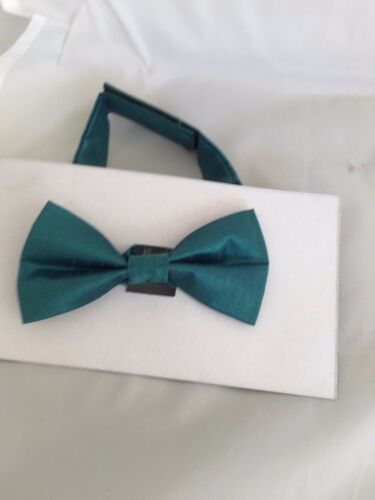 "Mens Teal Green Ties/>Classic 3.3/""=8cm-Skinny 2/""= 5cm-Boys 3/""=7.5cm-Bow ties-Sets"