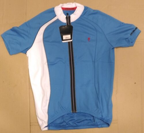New,S//M//L//XL Specialized Cycling Offset Jersey,Men,Blu//Wht
