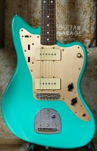 Fender Jazzmaster Seafoam Green nitro custom guitar with Musikraft USA neck