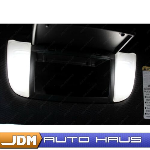4pcs White 6614F Sun Visor Vanity Mirror Lights Fits Honda Acura Toyota Nissan