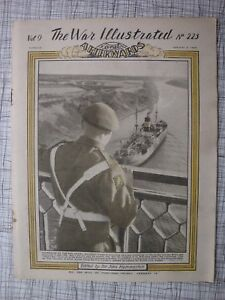 The War Illustrated # 223 (Malta, U-Boat, Nuremberg, Italy, ANZACs, Palestine)