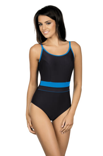 Womens Padded Swimwear Sport Swimsuit Swimming Costume UK Size 8-16