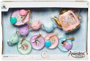 Disney-Princesa-19-Pieza-Te-Set-Teatime-Playset-de-Juguete-Animator-039-s-Coleccion
