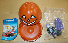 PLAYMOBIL 4772 HALLOWEEN PUMPKIN WITH A DRACULA TYPE FIGURE INSIDE NEW & SEALED