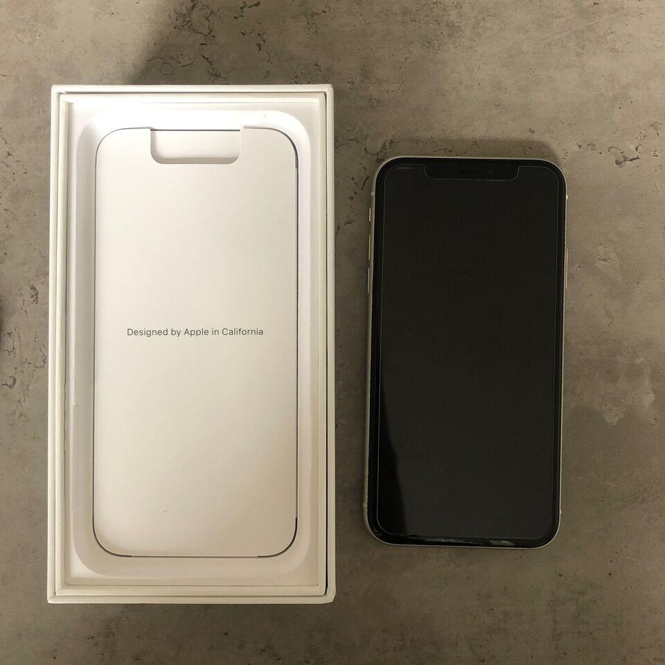 iPhone 11, 64 GB, hvid