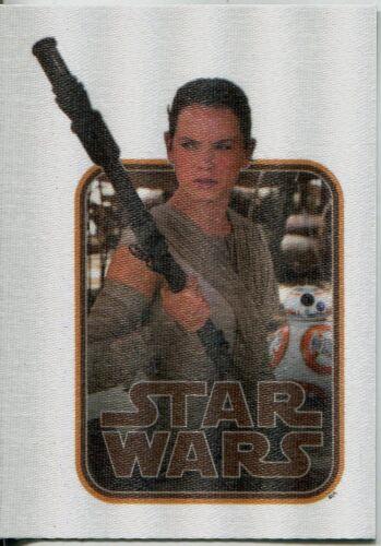 Star Wars JTTFA Cloth Stickers Chase Card CS-2 Rey