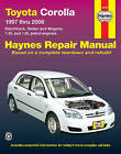 Toyota Corolla Automotive Repair Manual: 1997 to 2006 by Jeff Killingsworth (Paperback, 2007)