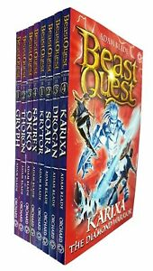 Beast-Quest-Series-17-18-Collection-8-Books-Set-By-Adam-Blade-Krytor-NEW