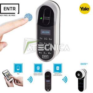 Tastiera-a-codice-con-lettore-impronte-digitali-per-YALE-ENTR-fingerprint-reader
