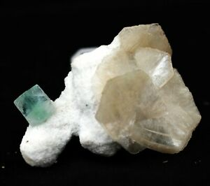GREEN-APOPHYLLITE-ON-STILBITE-WITH-CHALCEDONY-CRYSTAL-MINERALS-SPECIMENS-A14