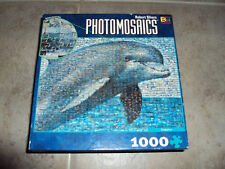 Photomosaics Dolphin Jigsaw Puzzle 1026 pieces Robert Silvers with poster