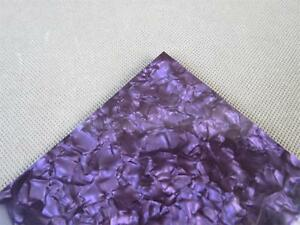2pcs-14-x14-x-0-05-inch-Purple-Pearl-celluloid-inlay-material