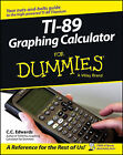 TI-89 Graphing Calculator For Dummies by Constance C. Edwards (Paperback, 2005)