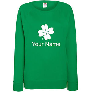 af9a2e0a5c530 Custom St.Patrick s Day Jumper - Your Name - St. Patrick s Day ...