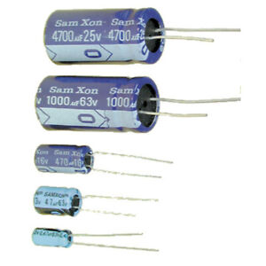 100pc Electrolytic Capacitor KM 220uF 16V 105℃ 2000hrs φ6x11mm Radial RoHS SC