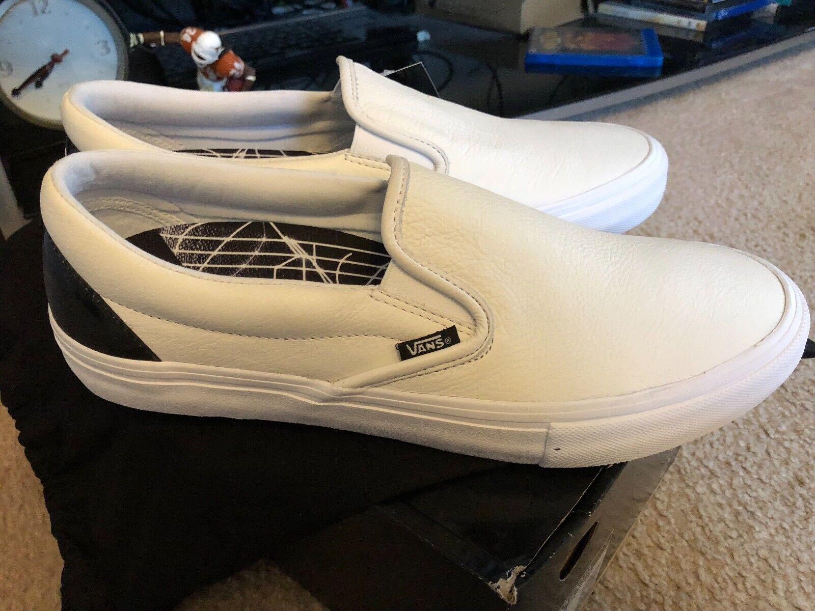 Vans x Octagon Slip-On Pro - True White / Black - New In Box