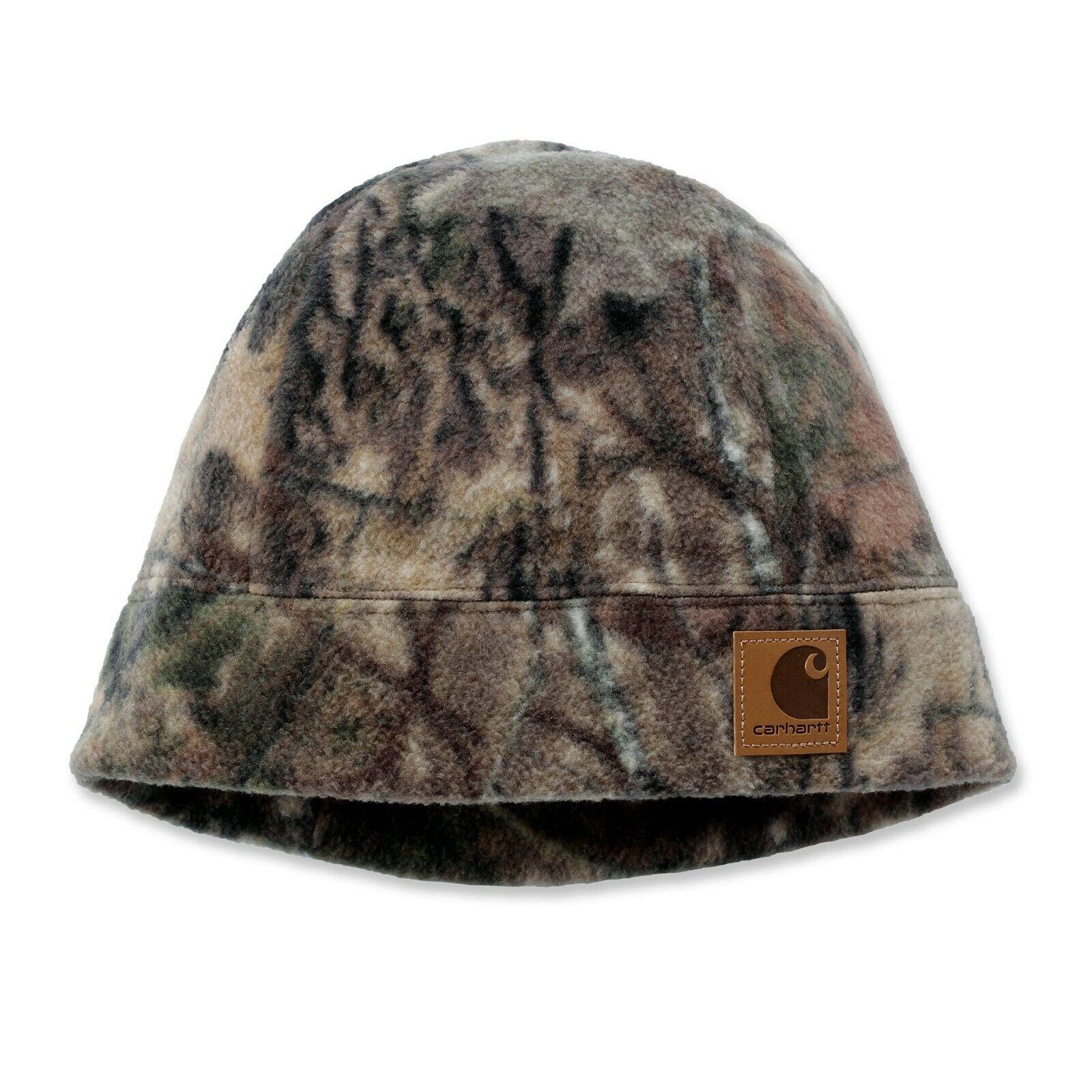 Carhartt Camo Fleece Hat   Mütze mit Tarnmuster   camouflage   A294   Ltd. Ed.