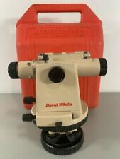 David White Lt8 300 Universal Level Transit Witho Optical Plummet Pre Owned